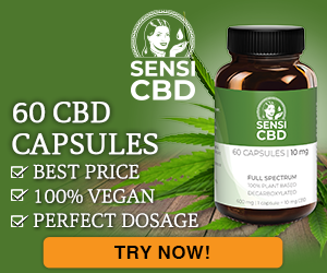 CBD Oil - 10mg - 60 capsules
